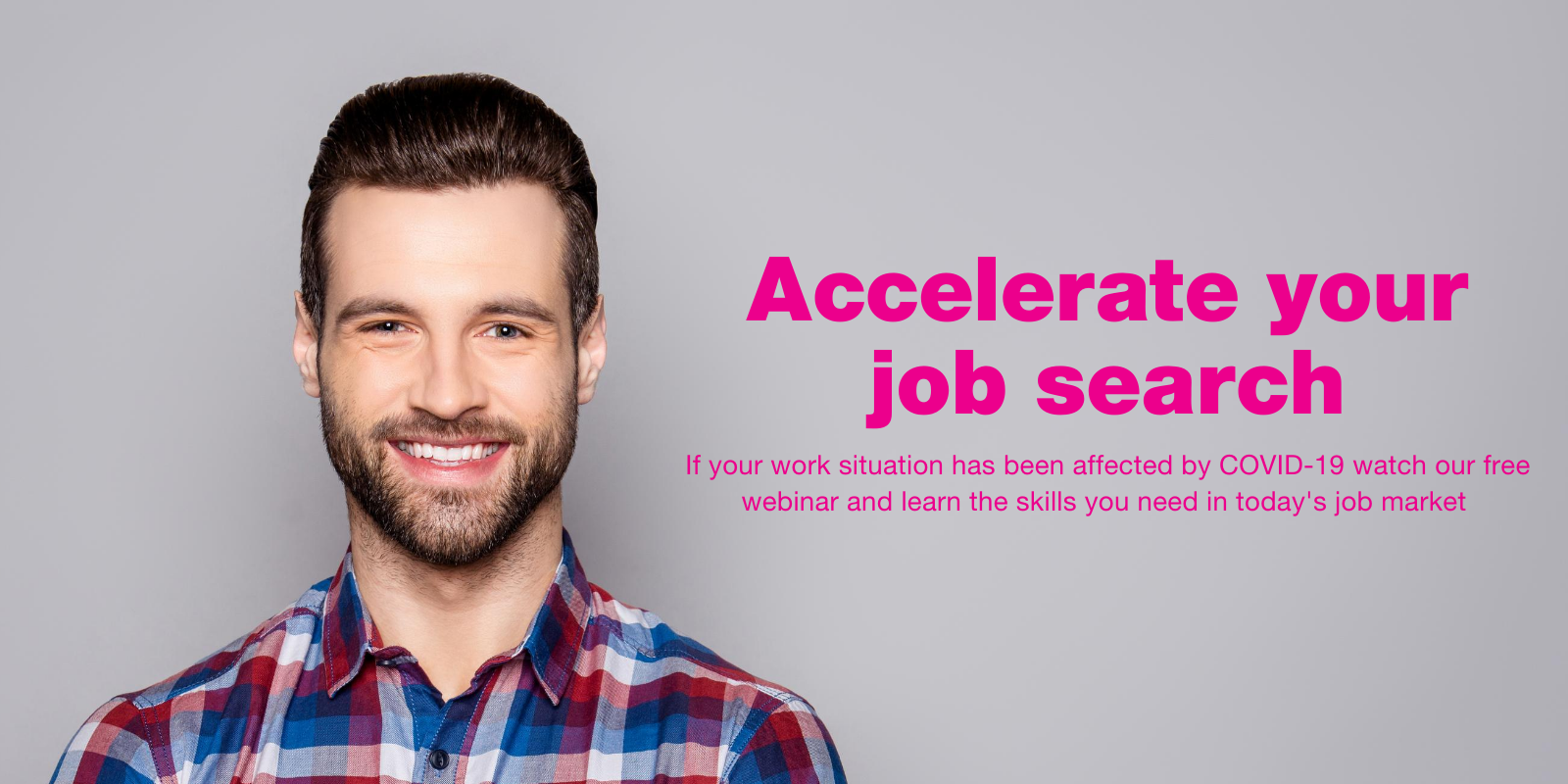 Job Search and Career Acceleration webinar